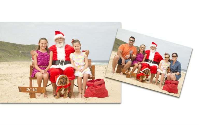 Package 2 - Photos with Sandy Claus