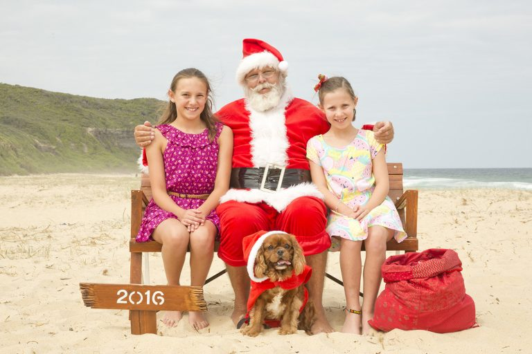 package 1 - Photos with Sandy Claus